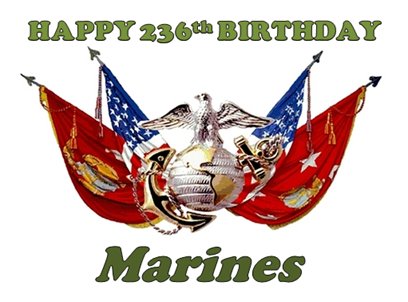happy b-day marines