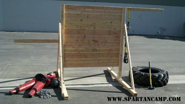 complete obstacle course training wall