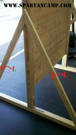 how to build an obstacle course training wall (f)