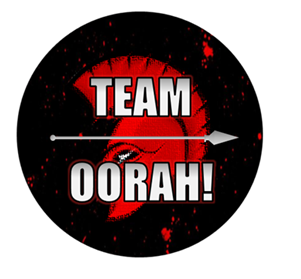 team oorah with border